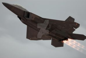 Raptor High Speed Pass 1 by AirshowDave