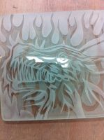 Werewolf in flames: Sandblasting 1/3 by NikkiSixxIsALegend