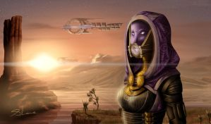 Mass Effect - Tali'Zorah by xZDisturbedZx