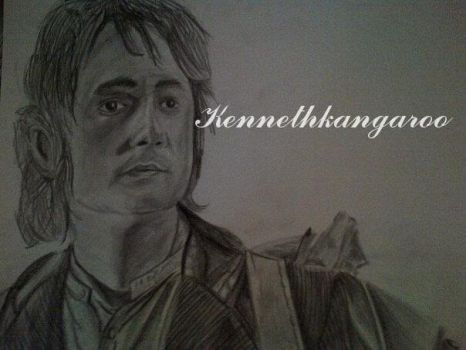 The Hobbit Work In Progress Realistic Drawing by kennethkangaroo