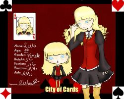City of Cards: Leila by XxFluffyShortcakexX