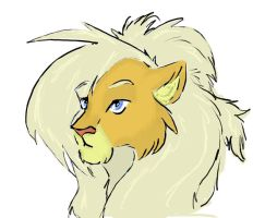 Egann - lion by Chater