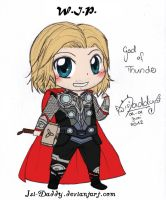 WIP - Chibi Thor Odinson by Isi-Daddy
