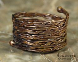 Ancient Nord Woven Ring by OrestesGraphics