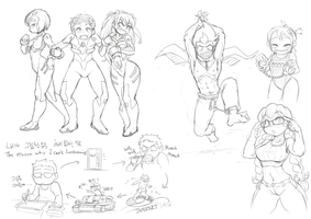 Doodles 20130927 by Nestkeeper