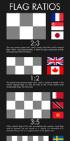 Flag Ratios by GreatPaperWolf