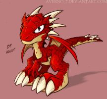 red dragon for Greatlp by Averno7