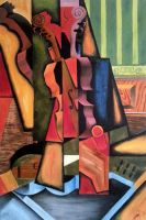Reproduction Juan Gris - Violin and Guitar by rougealizarine