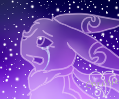 Crying starlight by TwilightTheEevee