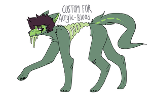 Custom for Acrylic-blood by SparX-Wolf