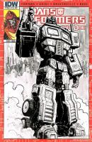 Transformers Regeneration sketch cover by T-RexJones