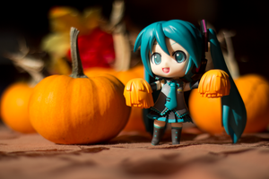 Miku Thanksgiving by TimmCosplay