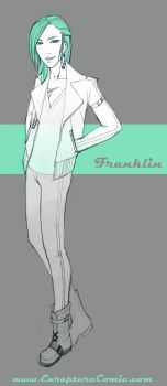 Enrapture Character: Franklin by lululinart