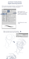 Digital sketching tutorial by pai-draws