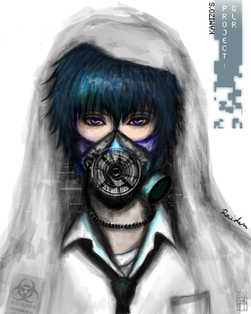 OC Atsuka Raiden for Atmosphyxiate by kamism