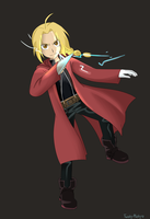 Edward Elric by Makaruu