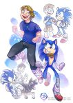 Bradley and Sonic - commission by mmishee