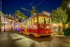 The Red Trolley Car by NY-Disney-fan1955
