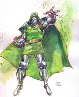 Doctor Doom commission by RodReis