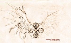 Cross+wings by Amika-theonenonly