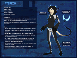 Atereon Reference Sheet by pandalecko