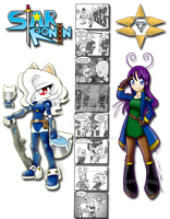Star Ronin: Crossover Academia by NecroCC