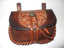 Celtic purse by Artapologia