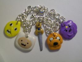Adventure Time Bracelet by ashitx