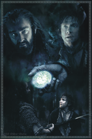 Thorin, Bilbo and the Arkenstone by LadyCyrenius