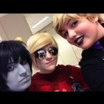 Cosplay- Karkat, Dave, Rose by hopkinz2010