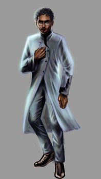 Male Scientist Concept by RanceWasHere