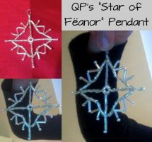 QP's Star of Feanor Pendant by QuantumPhysica