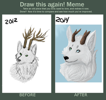 Before And After Meme by Alleriawolf