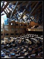 Scottish Parliment by Toop
