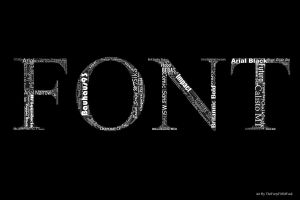 Font by ThefortyfifthWord