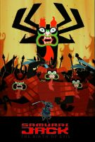 Samurai Jack: The Birth of Evil (2003) Poster by timbox129