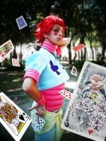 Hisoka the Magician by YUGIOHPASSIONCOSPLAY