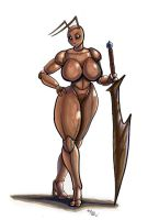 ant warrior by wolfgangcake