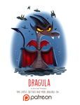 Day 1426. Dragula by Cryptid-Creations