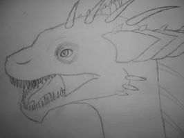 Sharp Toothed Dragon by DragonLindy