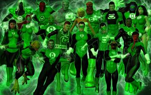 The Green Lantern Corps by DragonSpawn2000