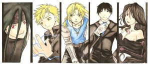 Fullmetal Alchemist Collage by KrystalNexus