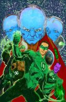 Green Lantern Movie by hiasi