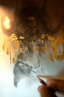 Eros et Thanatos... Work in progress 2... by Yoann-Lossel