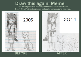 Meme: Before and After by Seeker by InuLuverHana89