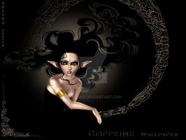 Coffeine Wallpaper by Magrad