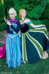 At least I've got the chance - Anna Elsa cosplay by Achico-Xion