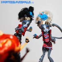 werekitty zombie attack by Countess-Grotesque