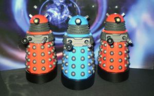 Dalek Drones and Strategist by CyberDrone