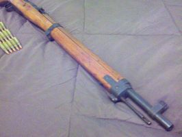 Arisaka Type 99 Short Rifle, Muzzle by GruntJoe